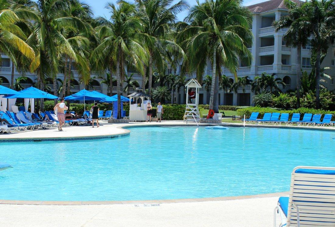 guest pool at ritz jamaica