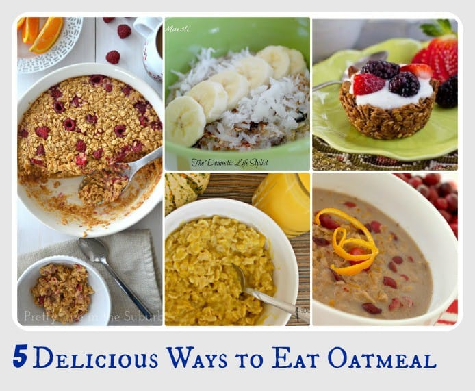 5 delicious ways to Eat Oatmeal