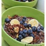 breakfast quinoa with fruit