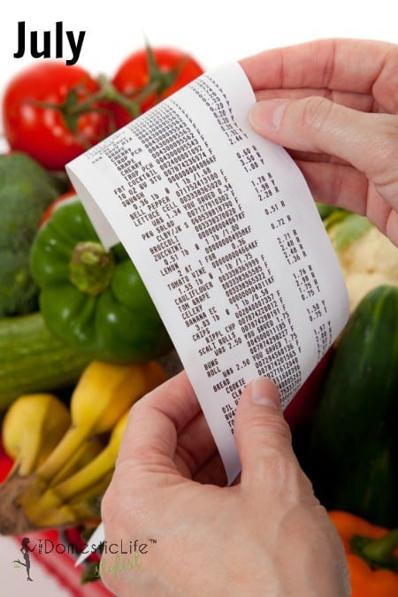 July Grocery Sales Cycles