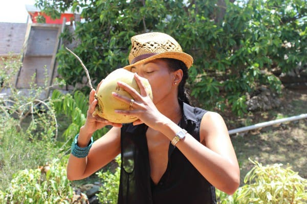 There are several great benefits of coconut water, here's a few