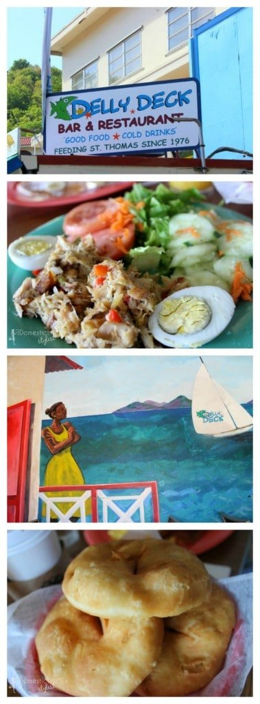 Visit Delly Deck restaurant in St. Thomas for local island breakfast