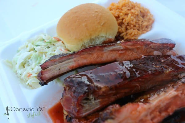 Texas Pit Ribs barbecue
