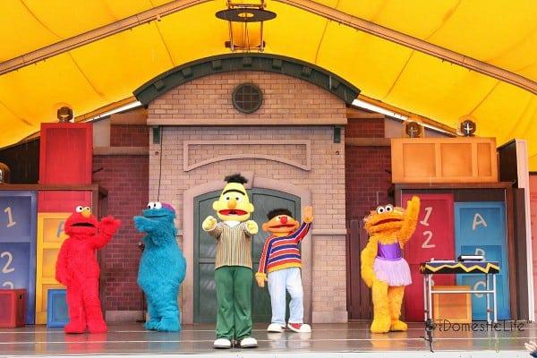 Sesame street character show