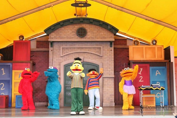 Sesame street character show