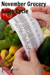 November grocery sales cycle
