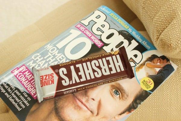 hershey chocolate & PEOPLE magazine 600x400