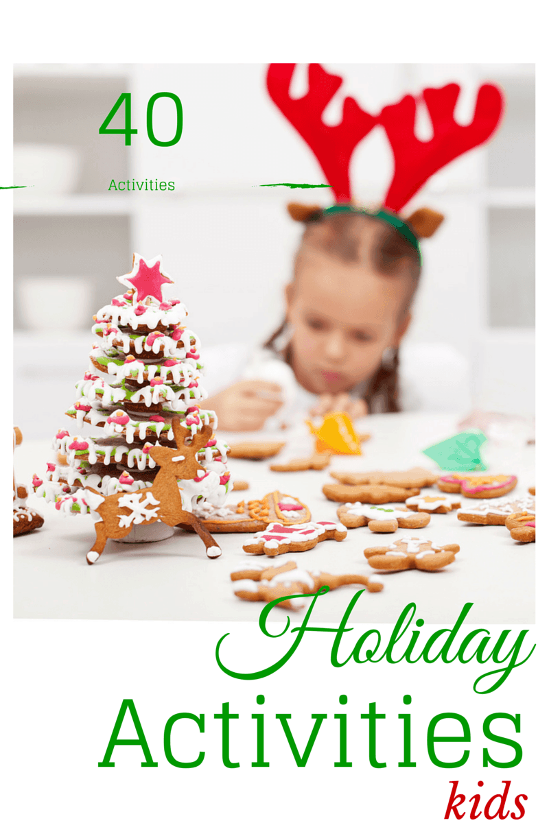 kids holiday activities