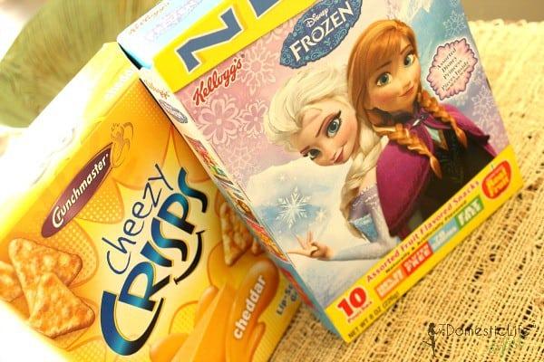 disney snacks and crunchmaster