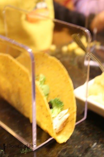 homemade taco stands