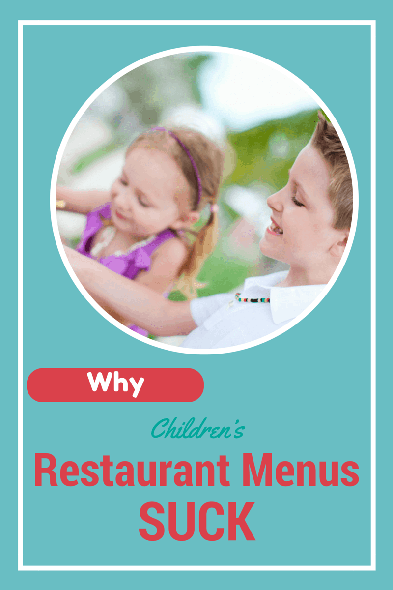 children's restaurant menus
