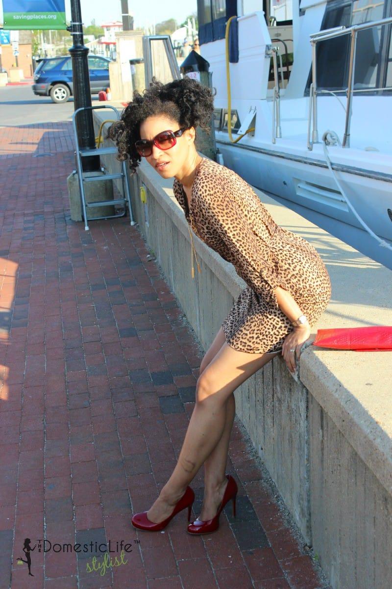 leopard print dress micahel kors 5