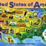 Melissa & Doug U.S.A Puzzle