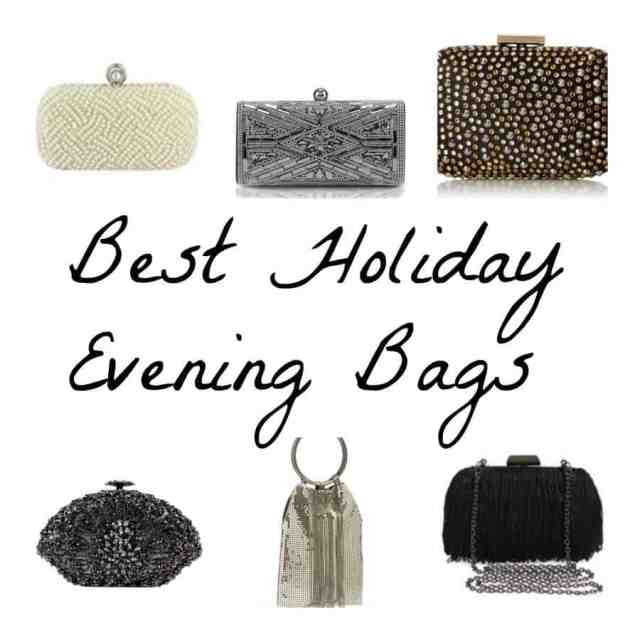 Best Holiday Evening Bags Collage