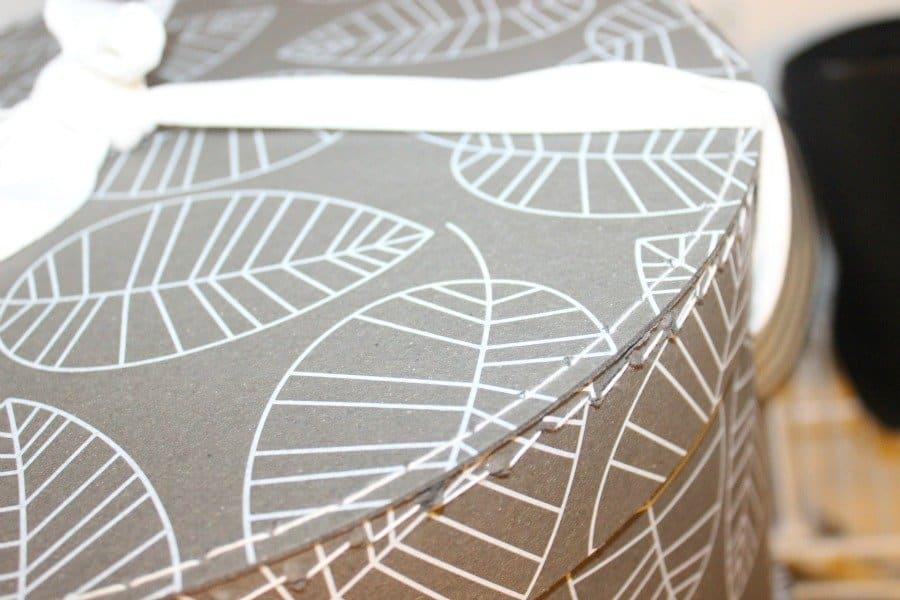 leaf hat boxes