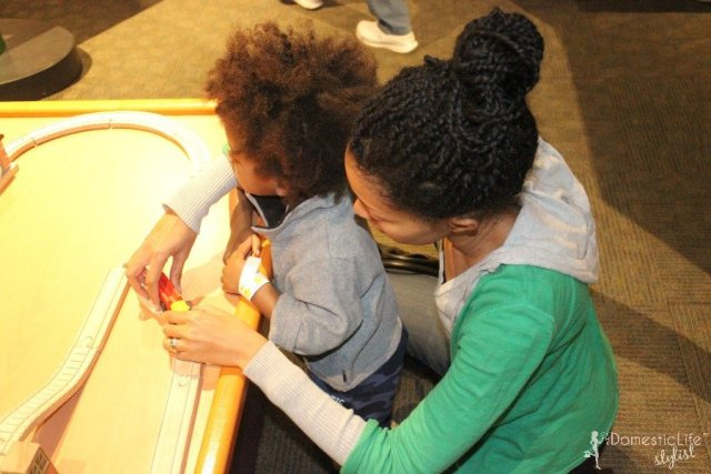 playing at maryland science center