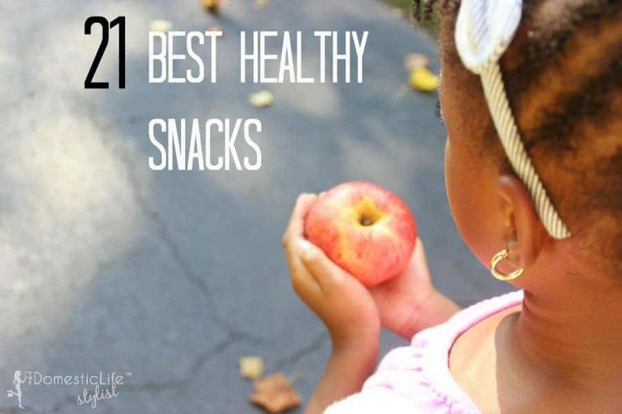 21 best healthy snacks