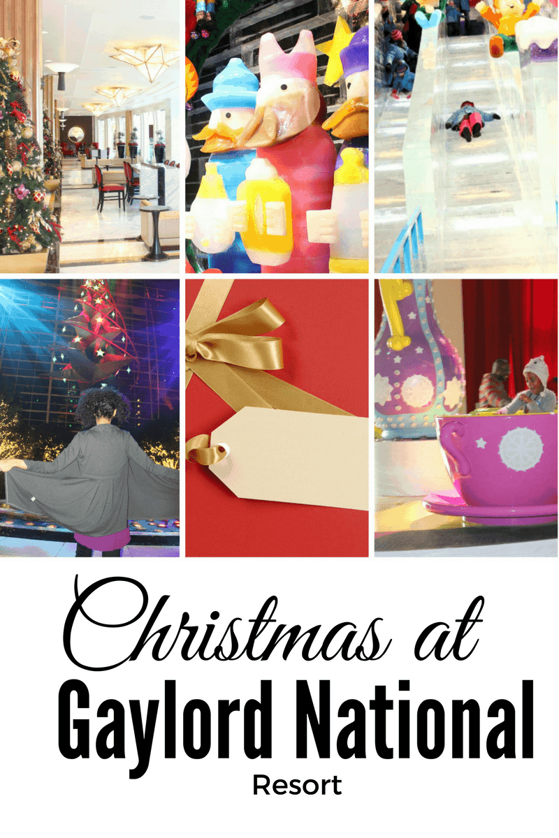 Tips for Christmas and ICE at Gaylord National Resort