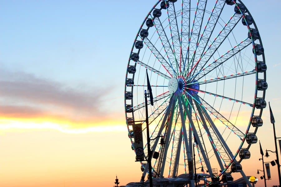 capital wheel ferris wheel at gaylord national