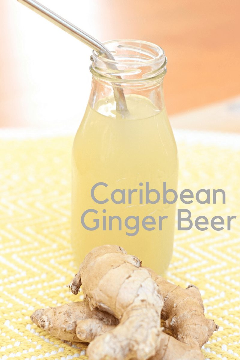 This spicy tasty ginger beer is  a Caribbean staple and a favorite that you can make at home.