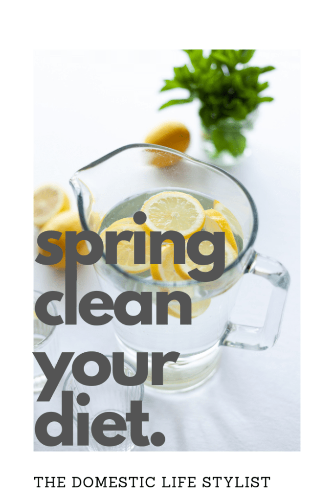 Health tips to spring clean your diet