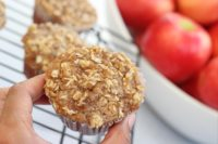Gluten free apple streudel muffins