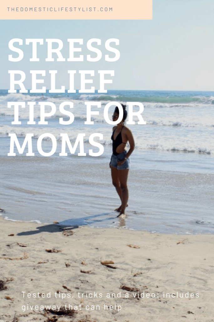 Tips and tricks to relief stress and anxiety, especially for moms.
