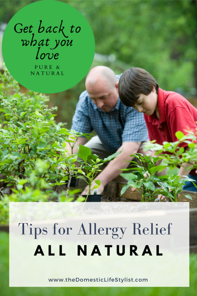 Tips got natural allergy relief