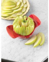 Amco Dial-A-Slice Stainless Steel Blade Apple Slicer In Red