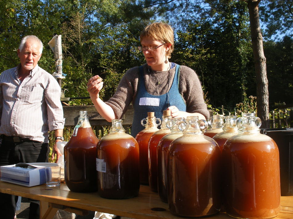 making cider in 2009