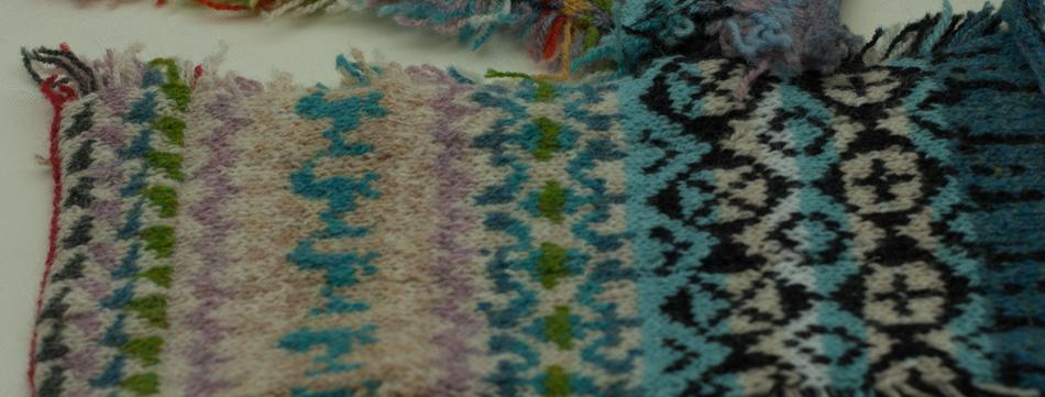 Catherine explores colour progression through the yoke