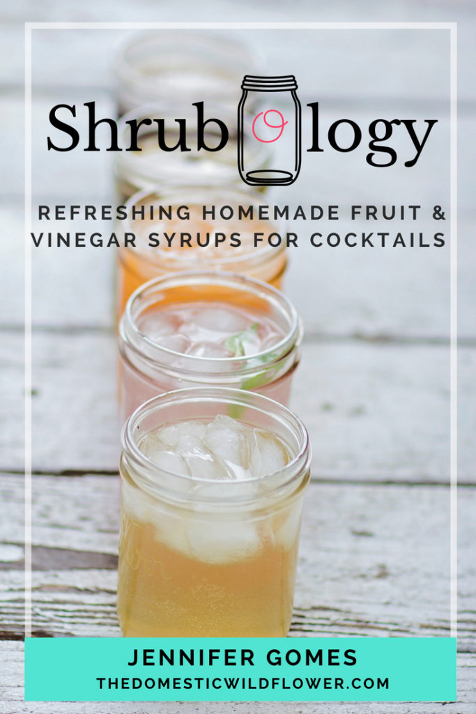 Shrubology: Refreshing Homemade Fruit and Vinegar Syrups for Cocktails