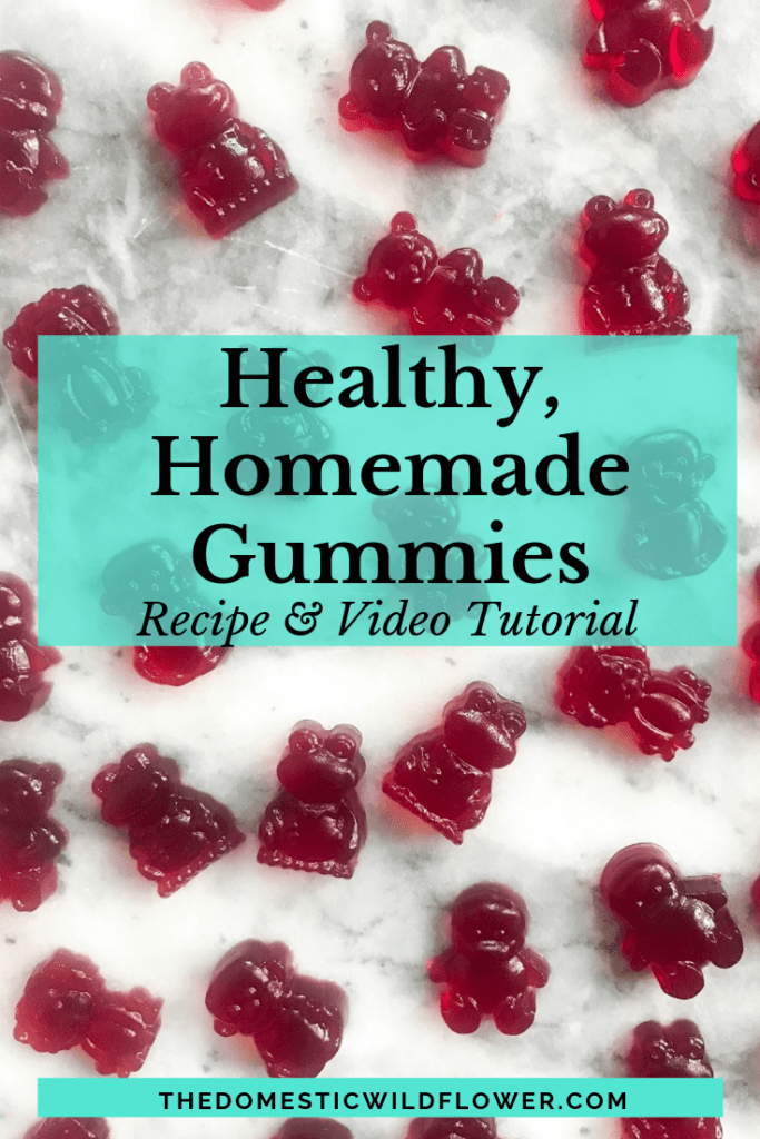 Healthy Homemade Gummies Recipes