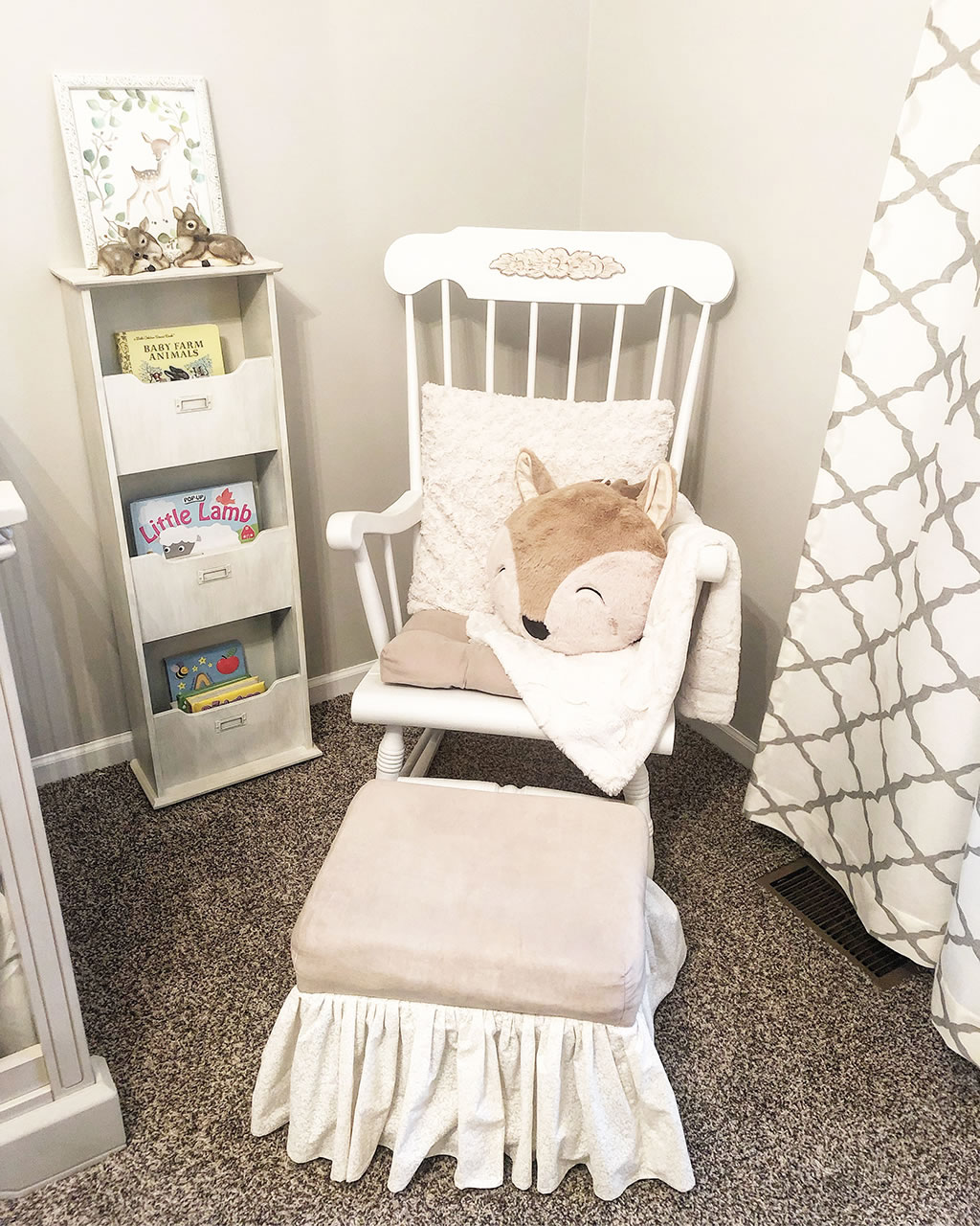 Oh Deer What A Nursery Ideas To Create A Rustic Yet Chic Hunting Themed Boy Nursery The Dom Family