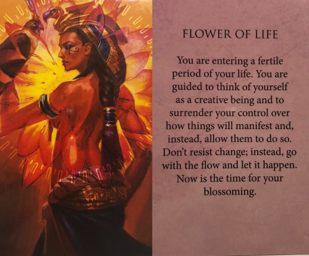Flower of Life Oracle Card