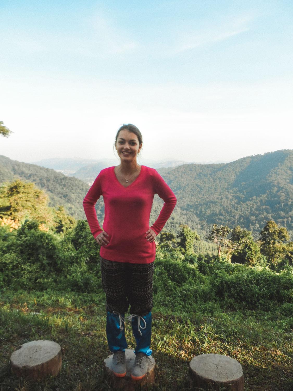 Khao Yai Nationalpark The Dorie mit Blutegelsocken