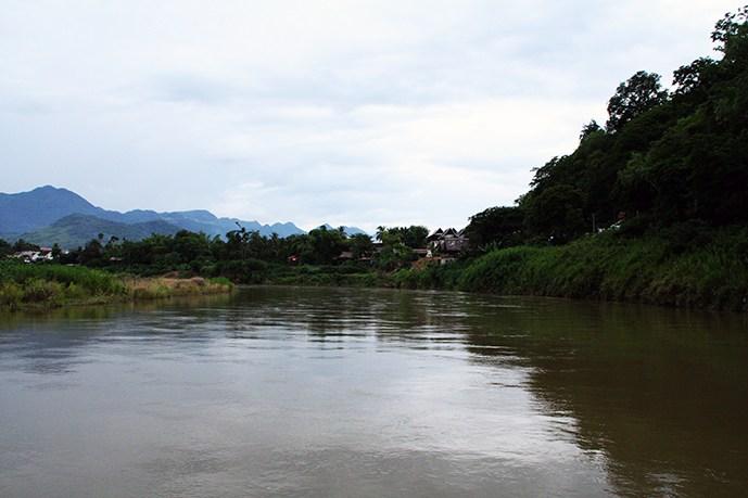 FLuss durch Luang Prbaang