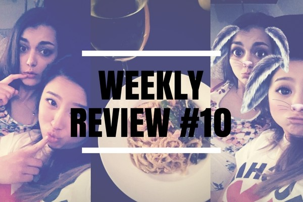 Weekly REview #10