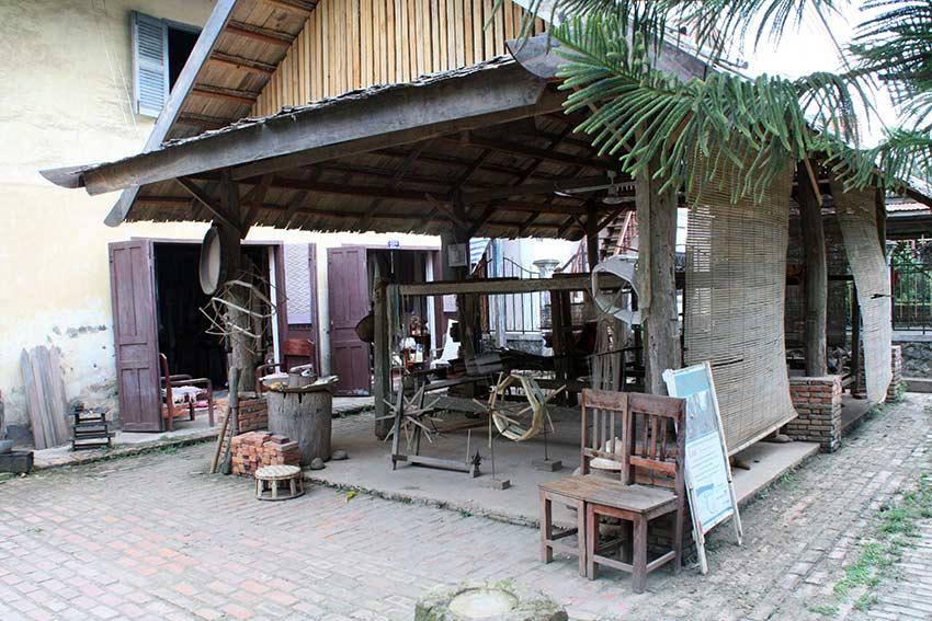 Weberei Luang Prabang
