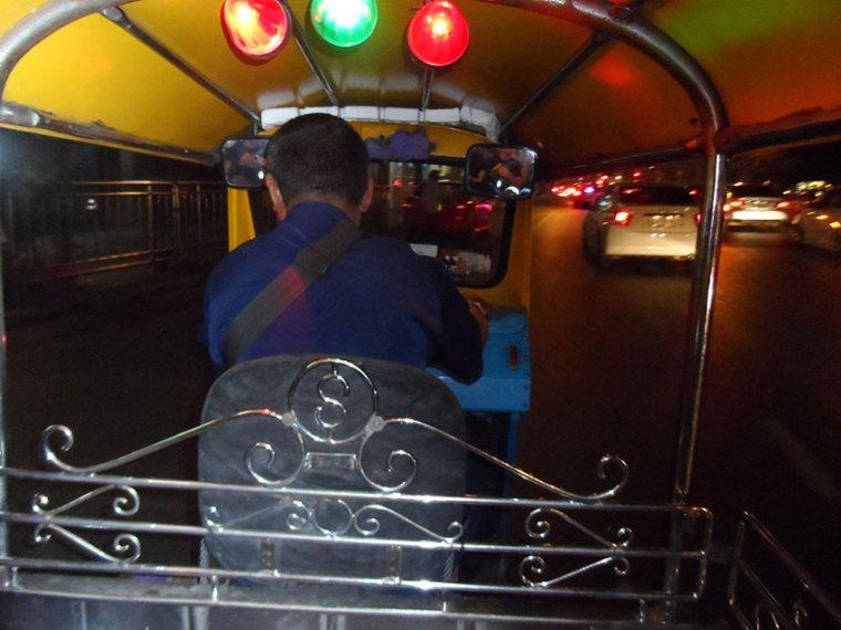 Tuktuk fahren