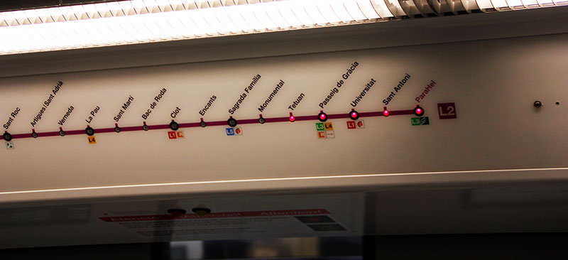 Ubahn Barcelona