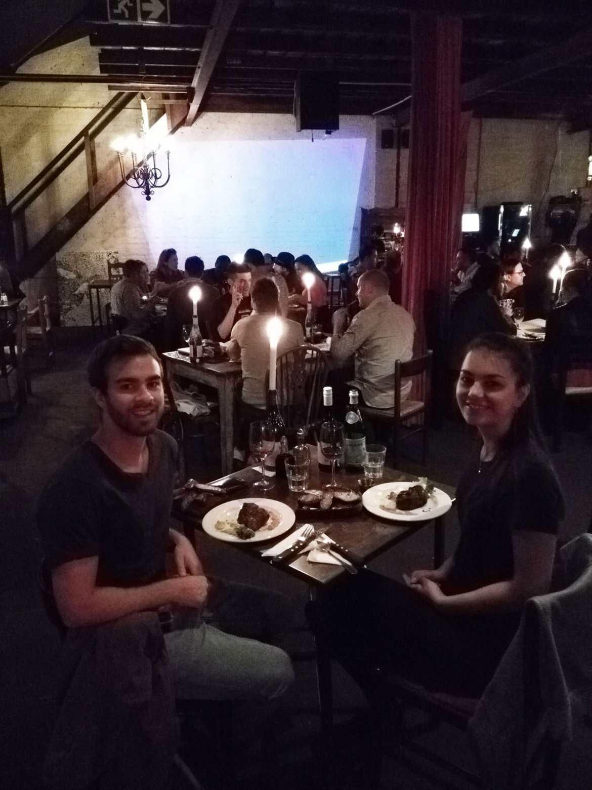 Dorie und Timo im Che in Johannesburg