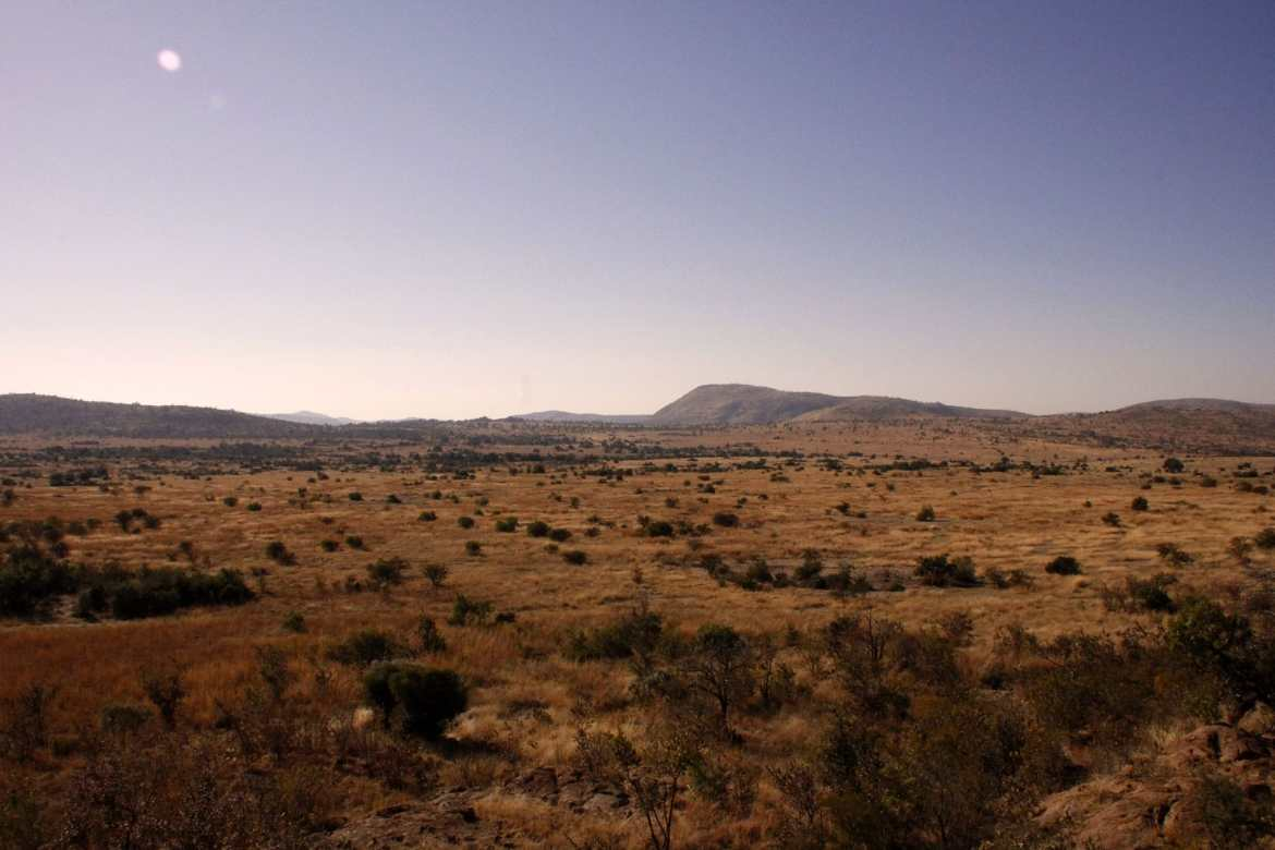 Landschaft in Pilanesberg