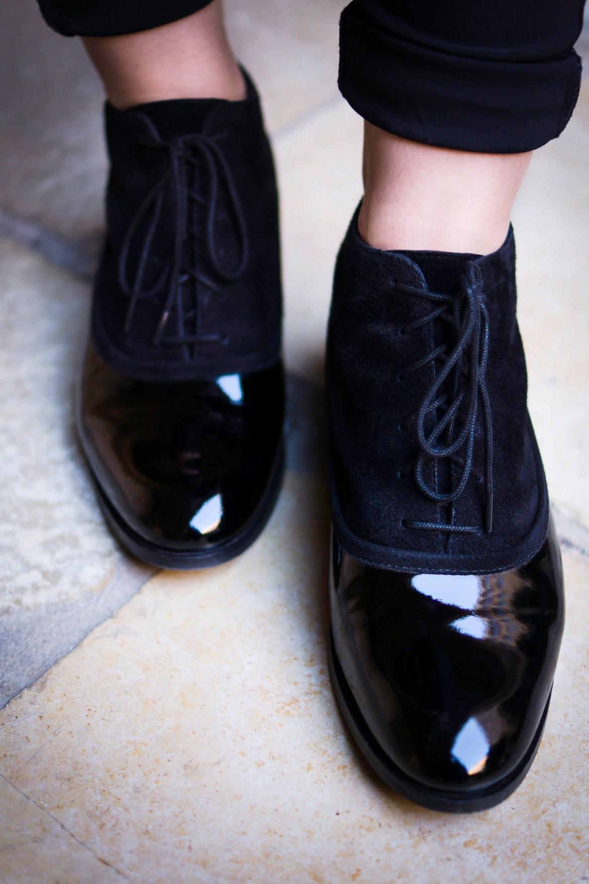 Schwarze Mint&Berry Ankle Boots