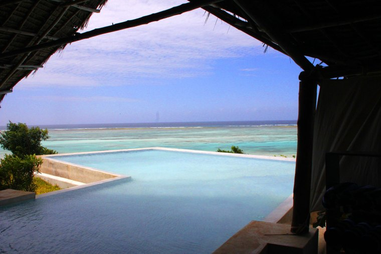Pool at Ras Michamvi Resort