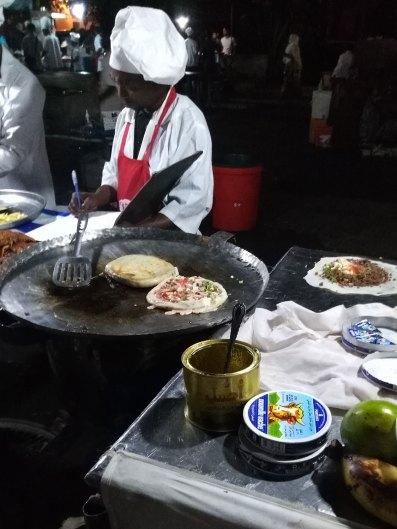 Zanzibar Pizza at the night market