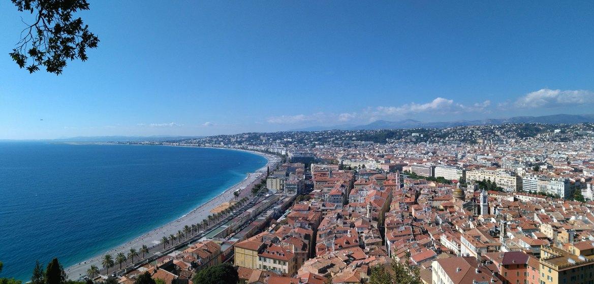 Nizza Reise Nizza von oben