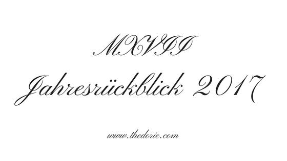 MXVII Jahresrückblick 2017