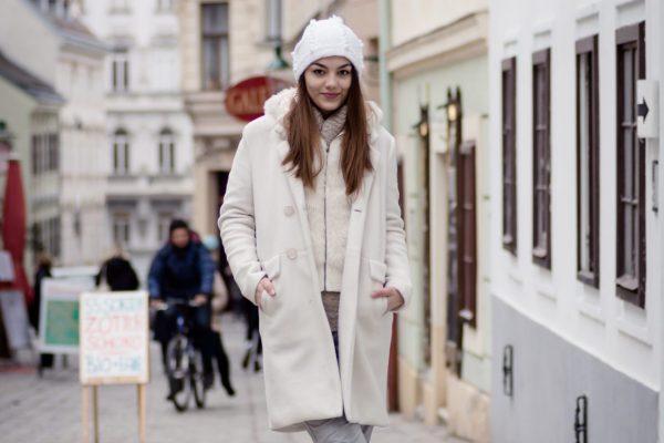 Winter Look mit Layering von Dorie