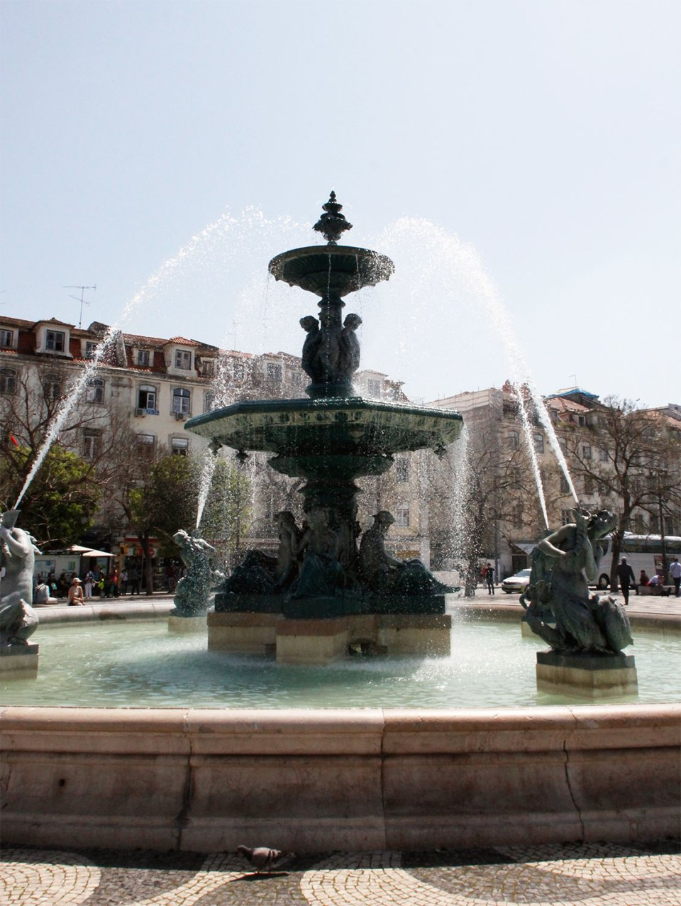 Springbrunnen in Lissabon